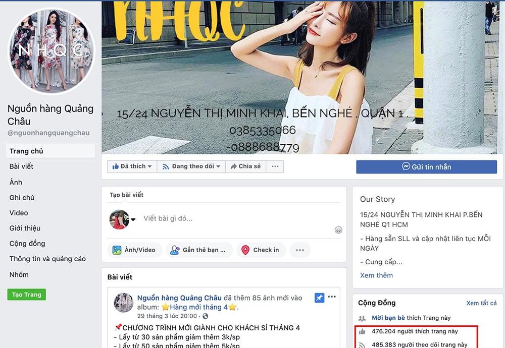 Nguồn hàng Quảng Châu– Shopbán sỉ quần áo quảng châu TPHCM